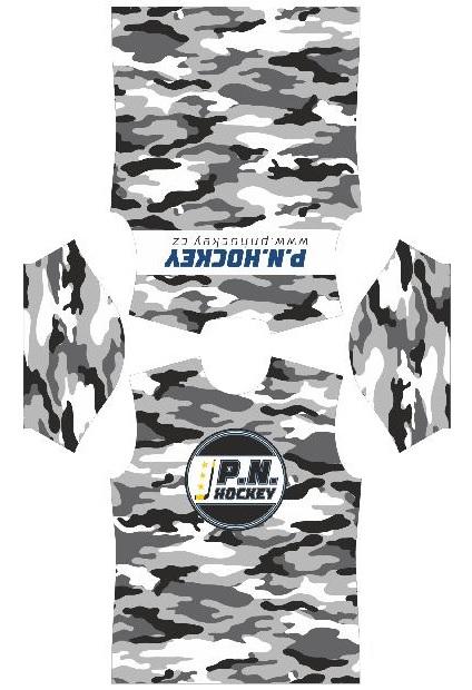 Tričko P. N. HOCKEY Army